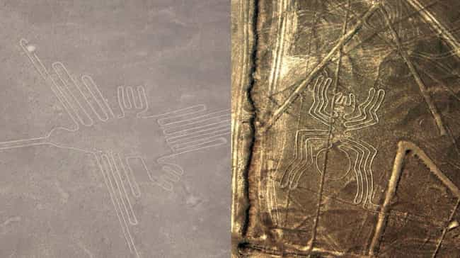 Nazca Lines is listed (or ranked) 4 on the list The Strangest Places On Earth