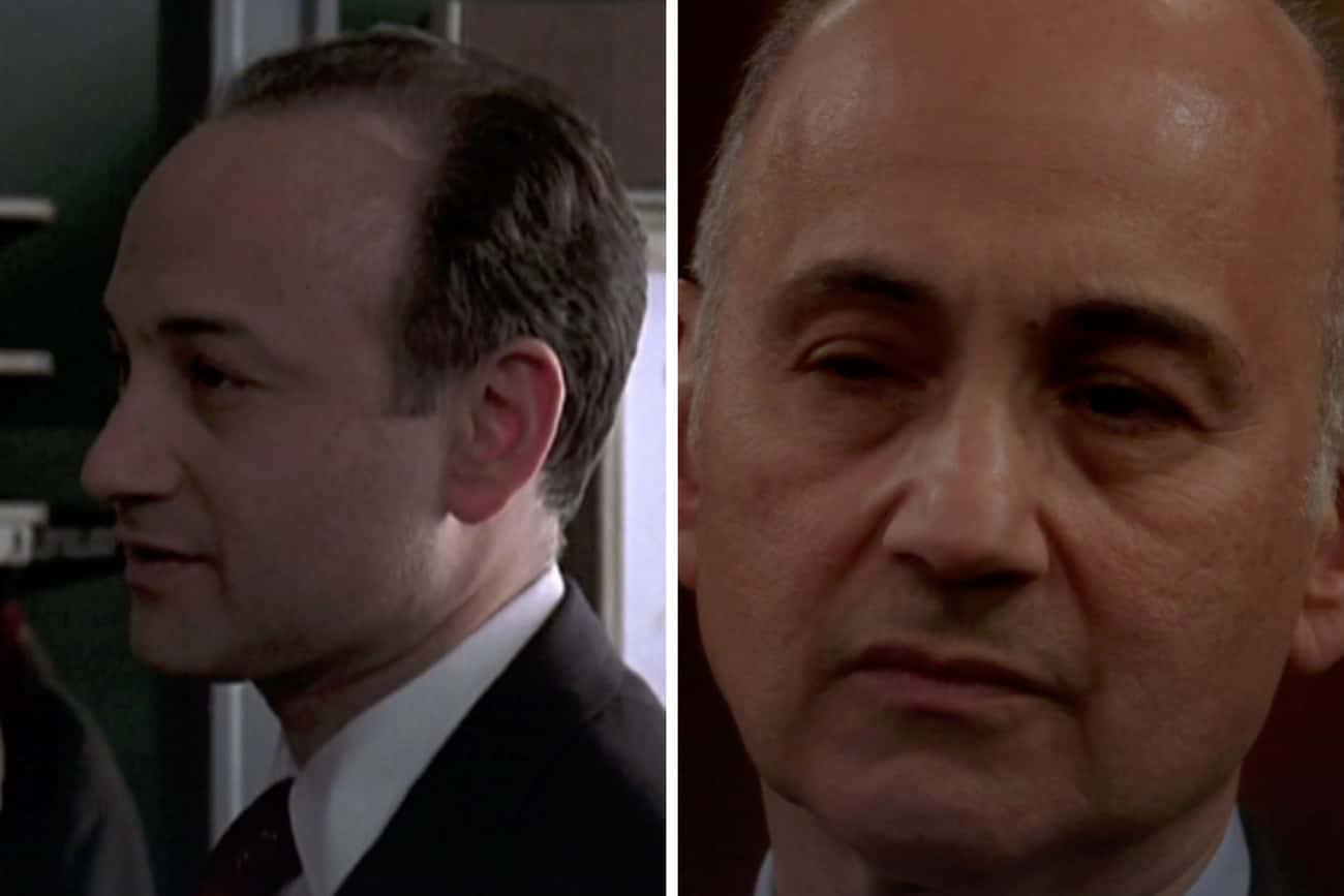 Ned Eisenberg (Roger Kressler) is listed (or ranked) 3 on the list How The 'Law & Order: SVU' Has Aged Since The First Season