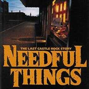 Needful Things is listed (or ranked) 21 on the list The Scariest Horror Books of All Time