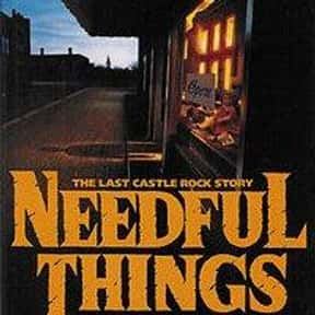 Needful Things is listed (or ranked) 15 on the list The Scariest Novels of All Time