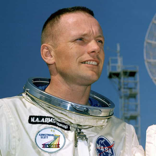 Neil Armstrong is listed (or ranked) 4 on the list The Hottest Male Astronauts in NASA History