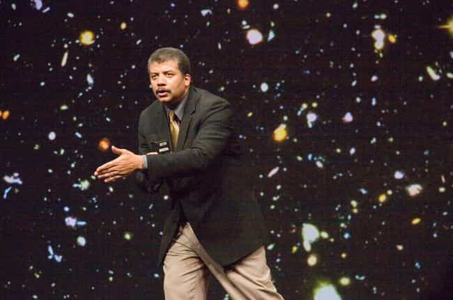 Neil deGrasse Tyson is listed (or ranked) 4 on the list Celebrities You'd Like to Spend Decades on a Spaceship With