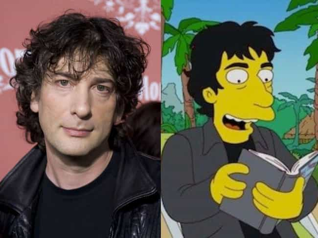 Neil Gaiman is listed (or ranked) 3 on the list Horror Icons Who Guest Starred On 'The Simpsons'