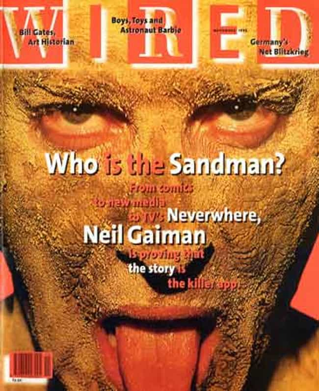 Neil Gaiman is listed (or ranked) 1 on the list The Best Wired Covers
