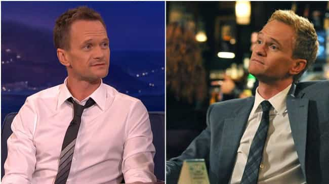 Neil Patrick Harris is listed (or ranked) 2 on the list Actors Known for Roles Opposite to Who They Are in Real Life