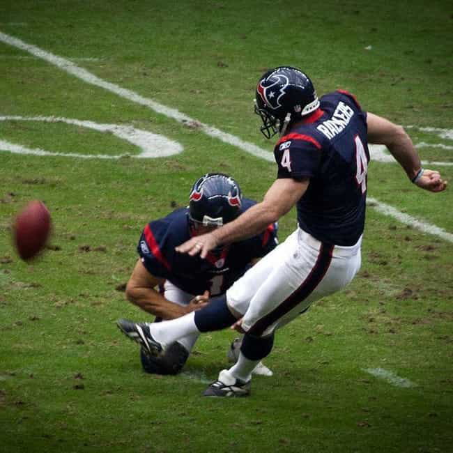 Neil Rackers is listed (or ranked) 2 on the list The Best Houston Texans Kickers Of All Time