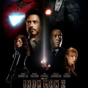 Iron Man 2 is listed (or ranked) 10 on the list The Best Robert Downey Jr. Movies