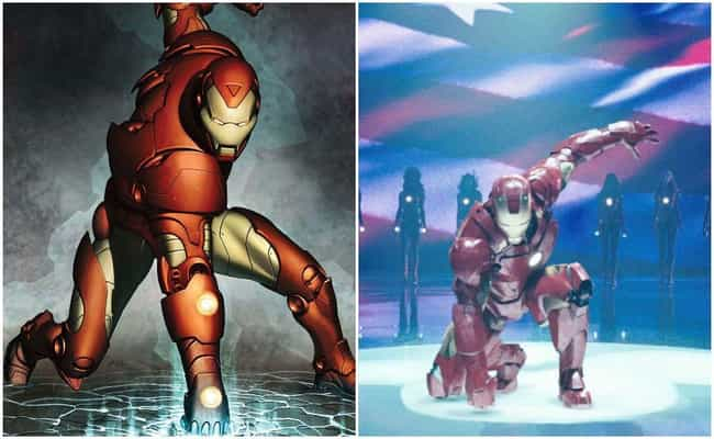 Iron Man 2 is listed (or ranked) 3 on the list Marvel Movies That Perfectly Recreate Panels From The Comics