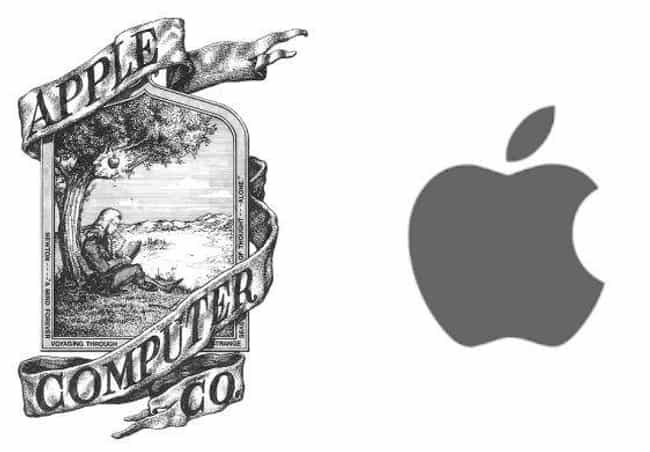 Apple is listed (or ranked) 2 on the list 15 Famous Corporate Logos Then And Now