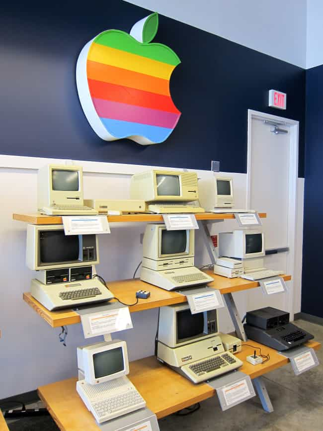 Apple is listed (or ranked) 4 on the list The Most Impressive Brand Comebacks