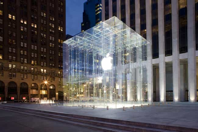 Apple is listed (or ranked) 1 on the list Retail Companies that Offer the Best Employee Discounts