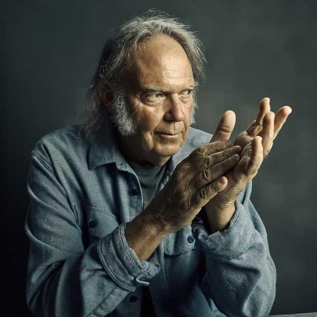 Neil Young is listed (or ranked) 4 on the list 24 Musicians Against Spotify And Other Streaming Services