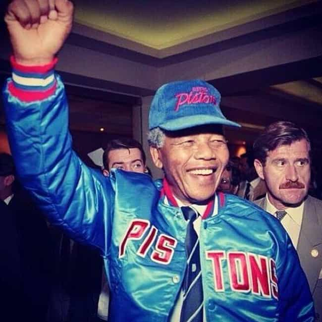 Nelson Mandela is listed (or ranked) 2 on the list Celebrity Piston Fans