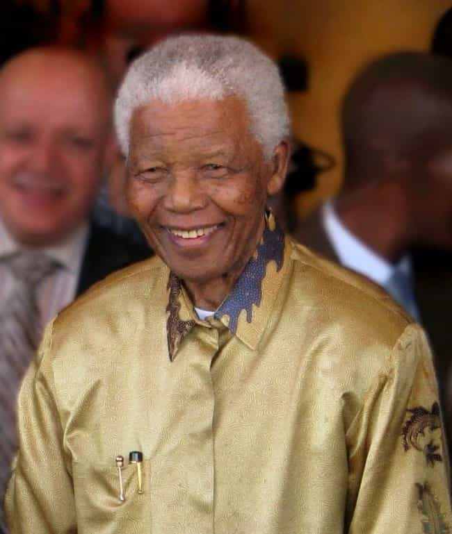 Nelson Mandela is listed (or ranked) 4 on the list How History's Most Famous Extroverts Changed History
