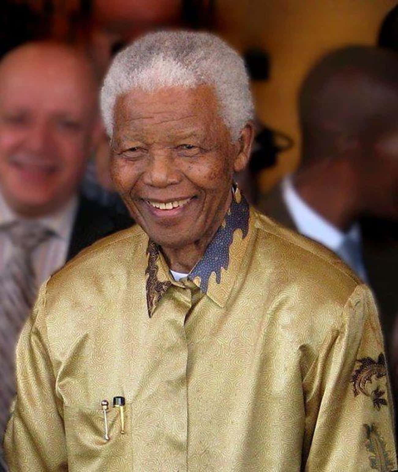 Nelson Mandela is listed (or ranked) 1 on the list 20 Famous People Who Went to Law School