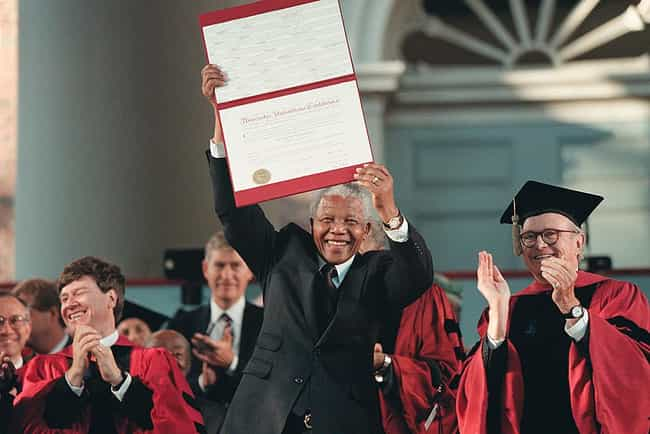 Nelson Mandela is listed (or ranked) 1 on the list 29 Famous People Who Went to Law School