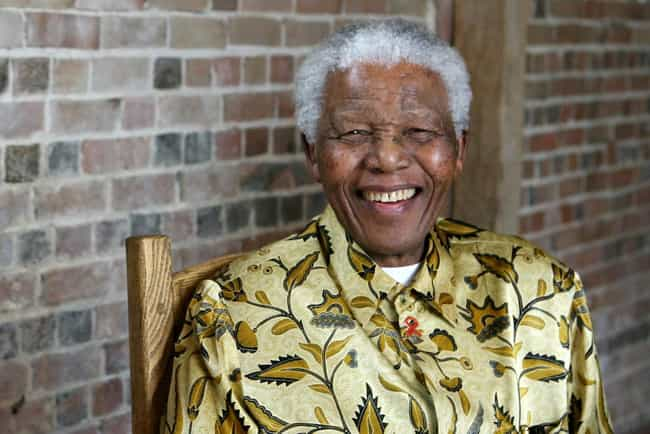 Nelson Mandela is listed (or ranked) 1 on the list List of Famous Security Guards