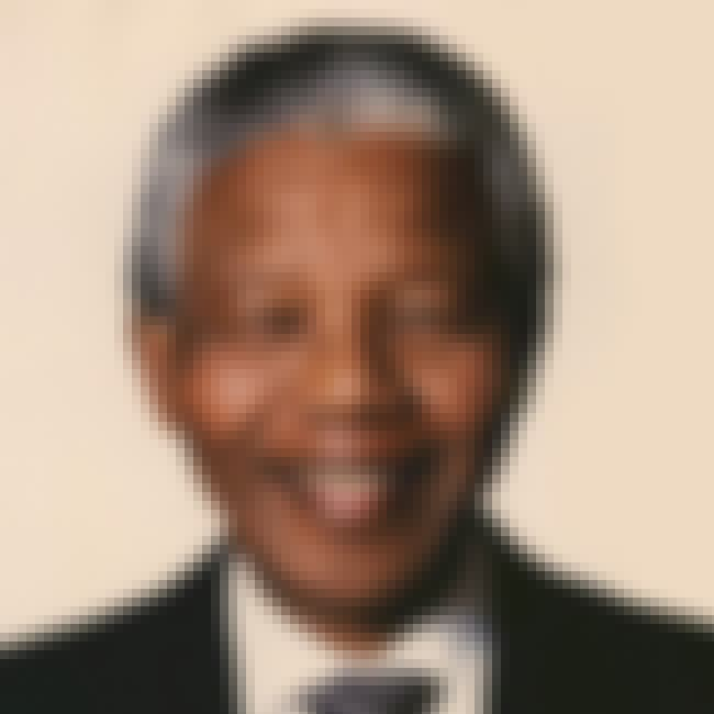 Nelson Mandela is listed (or ranked) 4 on the list Famous Cancer Celebrities