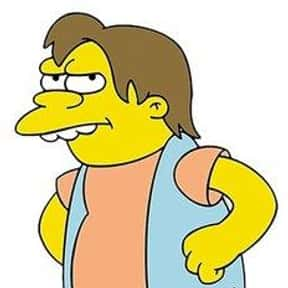 Nelson Muntz is listed (or ranked) 4 on the list The Biggest Bullies of TV and Film