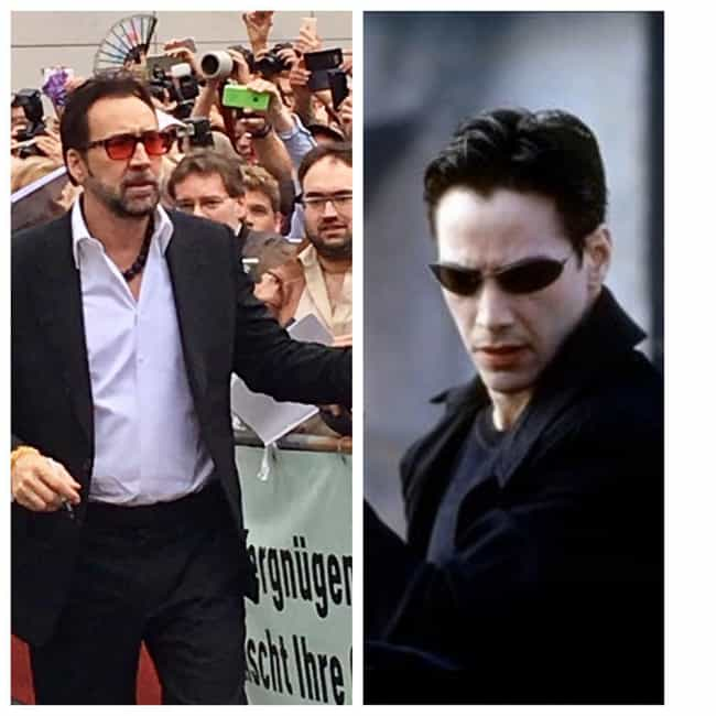 Neo is listed (or ranked) 3 on the list 10 Amazing Roles Almost Played by Nicolas Cage