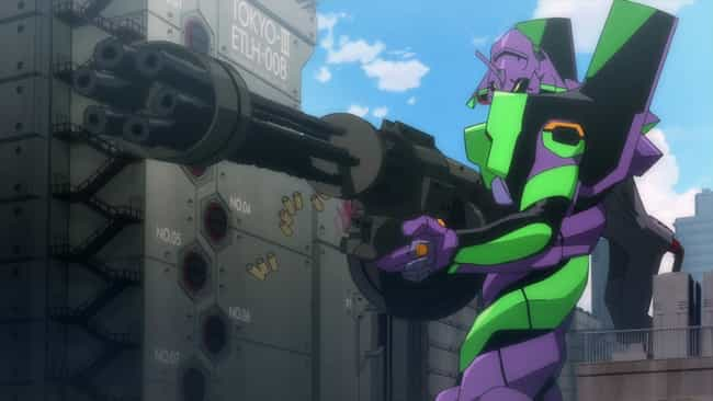 Neon Genesis Evangelion is listed (or ranked) 2 on the list The Best Mecha In Anime