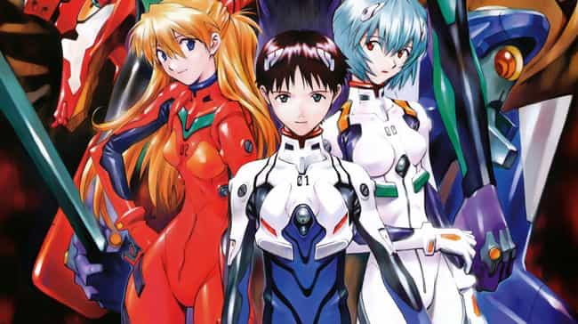 Neon Genesis Evangelion ... is listed (or ranked) 8 on the list 16 Great Anime You Can't Watch on Crunchyroll