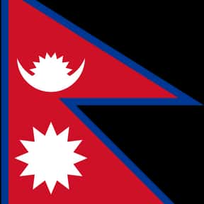 Nepal is listed (or ranked) 12 on the list The Prettiest Flags in the World