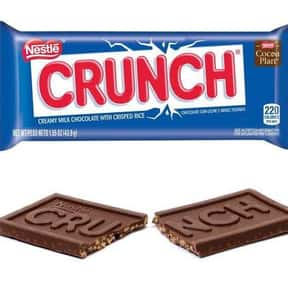 Nestlé Crunch is listed (or ranked) 9 on the list The Best Chocolate Bars