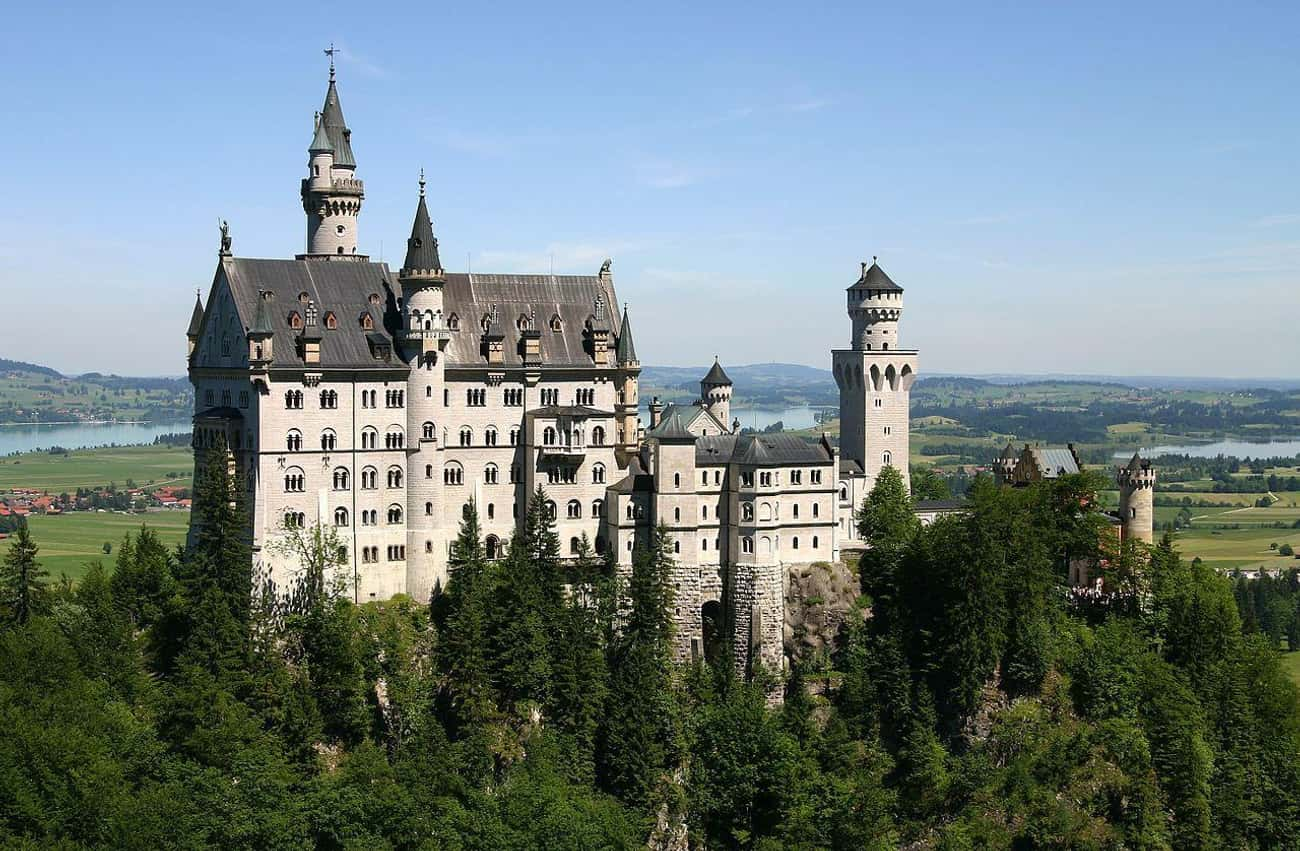 Neuschwanstein Castle is listed (or ranked) 2 on the list The Most Beautiful Castles in the World