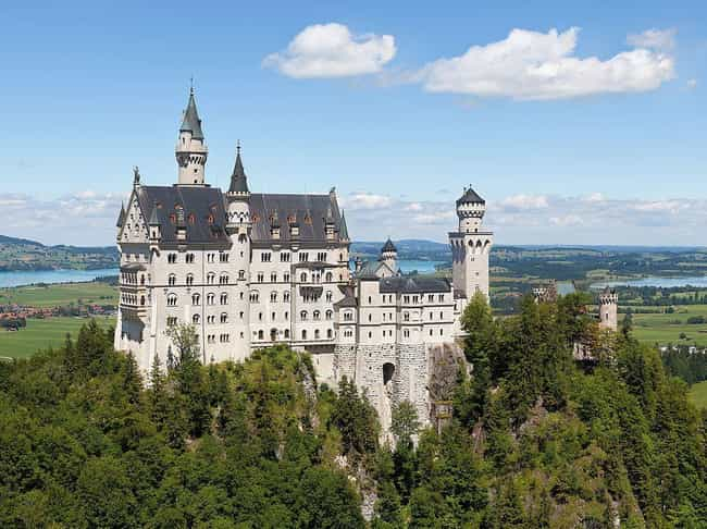 Neuschwanstein Castle is listed (or ranked) 2 on the list The Most Beautiful Castles in Europe