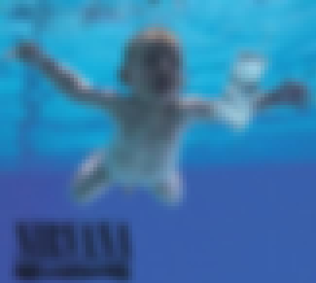 Nevermind is listed (or ranked) 7 on the list The Greatest Album Covers