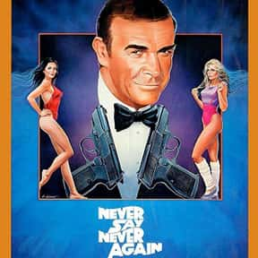 Never Say Never Again is listed (or ranked) 15 on the list The Best Rowan Atkinson Movies