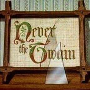 Never the Twain is listed (or ranked) 13 on the list The Best 1980s British Sitcoms