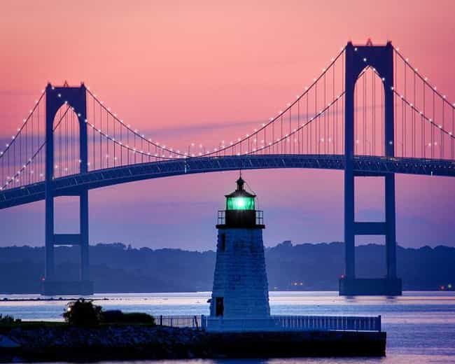 Newport is listed (or ranked) 4 on the list The All-Time Best Presidential Vacation Spots