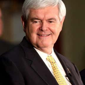 Newt Gingrich is listed (or ranked) 1 on the list Famous Emory University Alumni