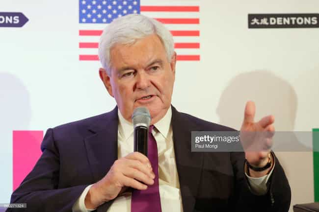 Newt Gingrich is listed (or ranked) 1 on the list 26 Family Values Politicians Caught Having Affairs