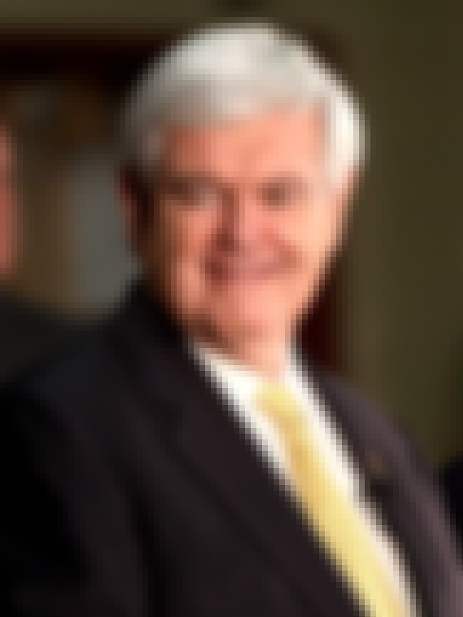 Newt Gingrich is listed (or ranked) 2 on the list List of Famous Educators