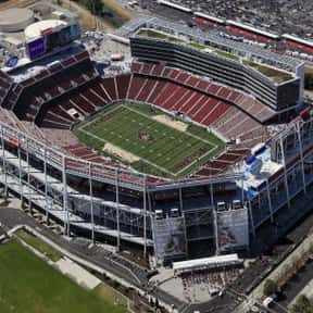 Levi's Stadium is listed (or ranked) 11 on the list The Best NFL Stadiums