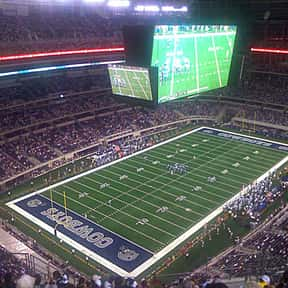 AT&T Stadium is listed (or ranked) 12 on the list The Best NFL Stadiums
