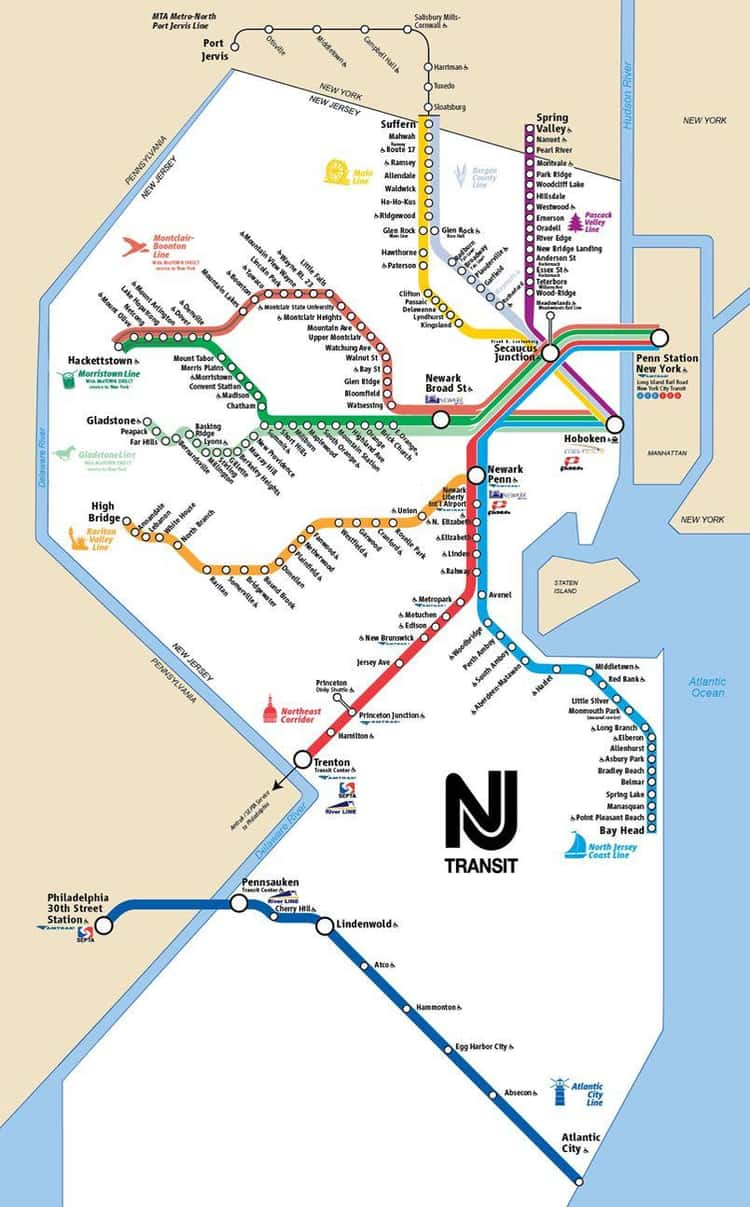 New Jersey Transit, The Only Statewide Rail System In The U.S.