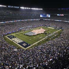 MetLife Stadium is listed (or ranked) 20 on the list The Best NFL Stadiums