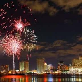 New Orleans is listed (or ranked) 4 on the list The Best Cities to Party in for New Years Eve