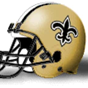 Saints is listed (or ranked) 3 on the list The Best Current NFL Helmets