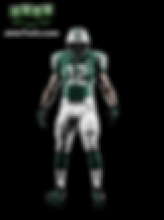 New York Jets is listed (or ranked) 28 on the list The Best Uniforms in the NFL