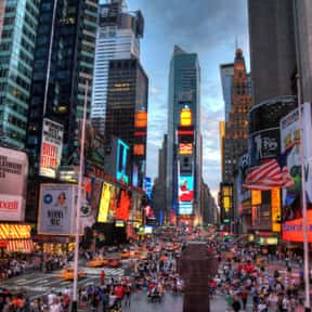 New York is listed (or ranked) 6 on the list The World's Most Densely Populated Places