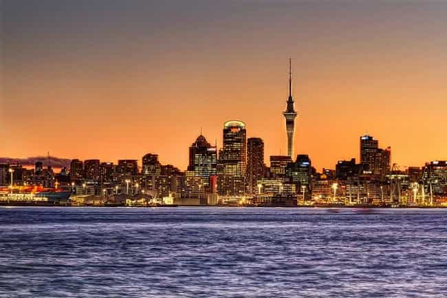 New Zealand is listed (or ranked) 4 on the list The Best Countries to Live In