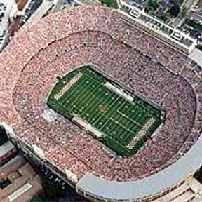 Neyland Stadium is listed (or ranked) 17 on the list The Best College Football Stadiums