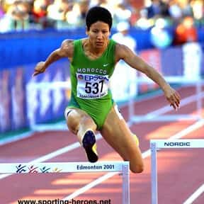 Nezha Bidouane is listed (or ranked) 5 on the list Famous Athletes from Morocco