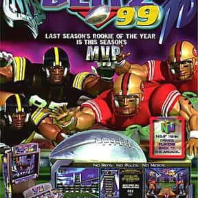 NFL Blitz '99 is listed (or ranked) 20 on the list The Best American Football Games of All Time