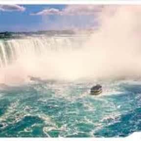 Niagara Falls is listed (or ranked) 5 on the list The Best Of The Most Visited Tourist Destinations in America